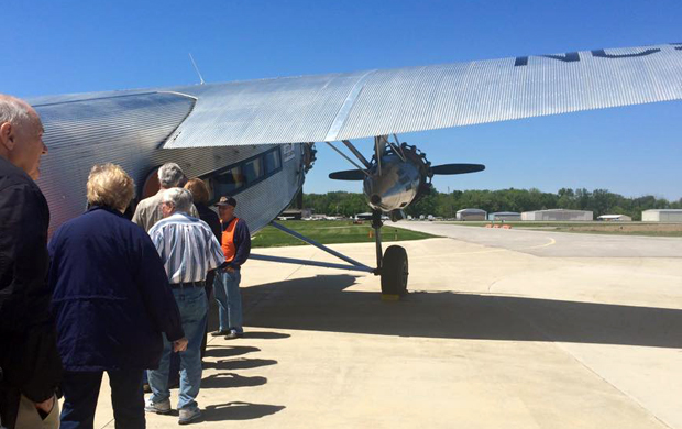 Liberty Aviation Museum's 1928 Ford Tri-Motor Ride Experiences
