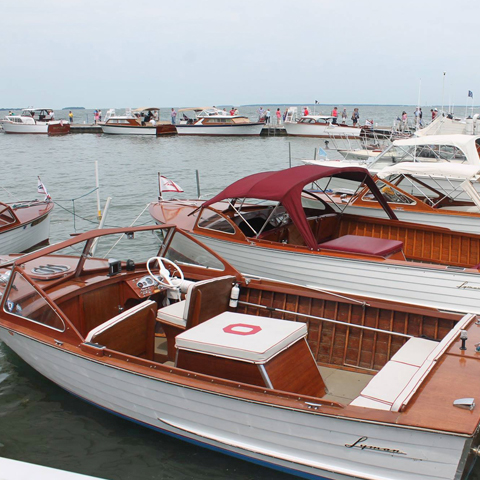 Lakeside Wooden Boat Show & Plein Air Art Festival