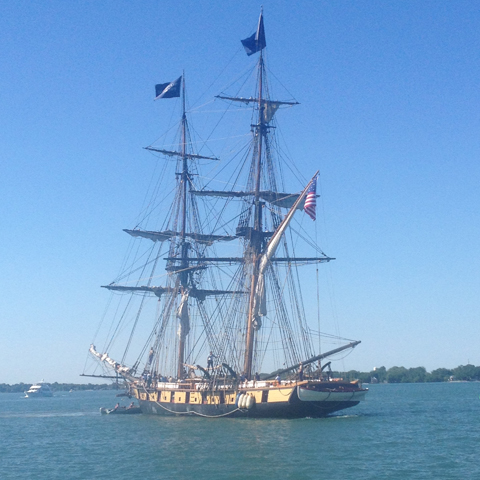 U.S. Brig Niagara at Put-in-Bay