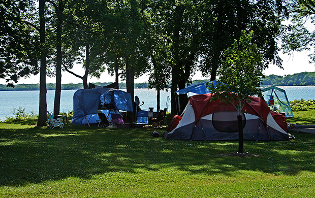 Kelleys Island State Park Campground