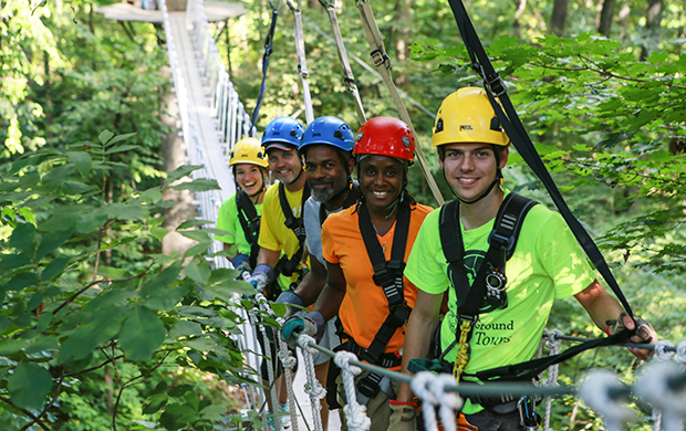 Zipline Common Ground Canopy Tours