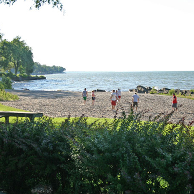 Lake Front Park Beach